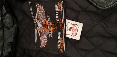 Motorcycle 2 piece leather racing suit