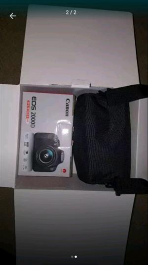 Canon Eos 2000d Starter Kit