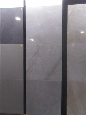 NEW RANGE OF POLISHED AND MATT PORCELAIN 600X600 TILES.