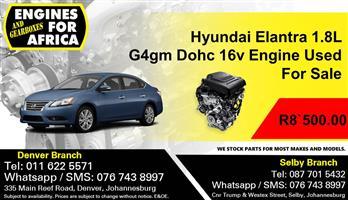 Hyundai Elantra 1.8L G4gm Dohc 16v Engine Used For Sale