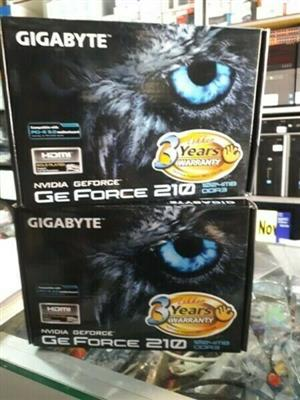 Gigabyte Ge Force 210 Graphic Card 1024MB, Brand New Sealed