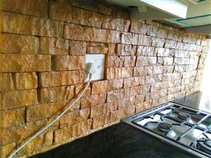 Make YOUR OWN Wall Cladding Stones- from your BACK YARD!