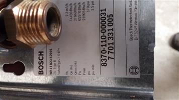 Bosch gas geyser