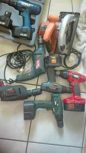 Power tools AS IS