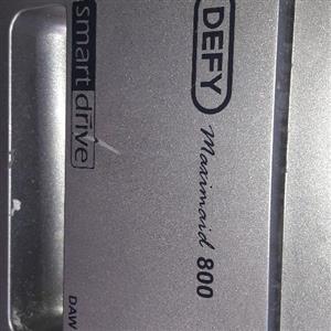 Defy Silver front Loader 8kg