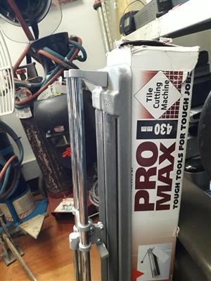 Pro max tile cutting machine