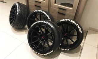 Tyre Lettering - Colours
