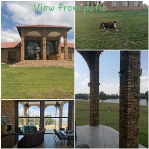 Calm and relaxing spot next to the Vaal -Peninsula on vaal in Eco game estate