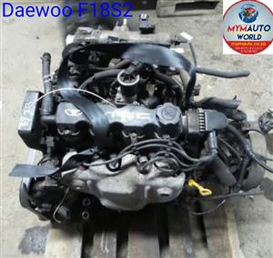 Imported used DAEWOO TACUMA/LEGANZA 1.8L 8V, F18S2, Complete second hand used engines