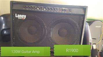 120W Guitar amp for sale