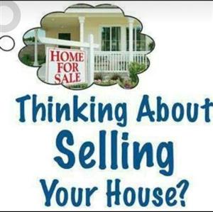 Sell your house with us.