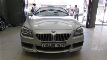 2013 BMW 6 Series convertible 650i CONVERT A/T (F12)