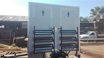 VIP / Mobile Toilet Trailer