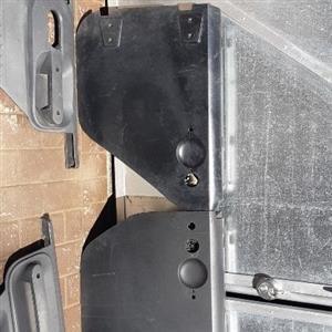 Jeep wrangler Jk original mopar steel half doors. 2xfront doors and 2xrear doors