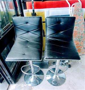 Solid leather bar stool for sale