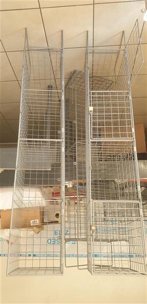 Wire Mesh locker 4 door