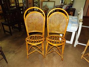 Single cane chairs