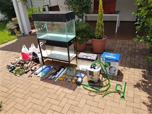 3 Fishtanks with extras
