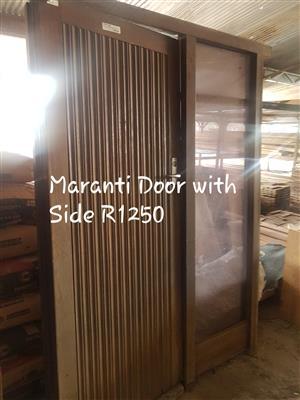 Used Maranti  Door with Side