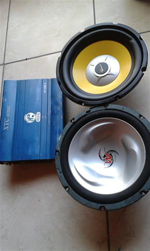 Amp + Subs