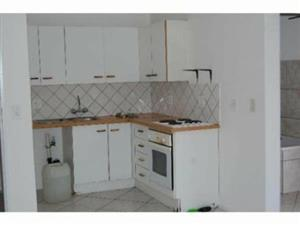Rembrandt Park secured 1 bedroom, kitchen, lounge and bathroom, built in cupboards with stove, close to all amnesties and main routes.