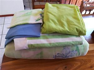 Green linen and tablecloths for sale