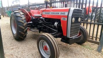 Massey Ferguson (MF) 240 4X2 Pre-Owned Tractor