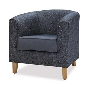 Sabina Single Tub Chair | Office Stock