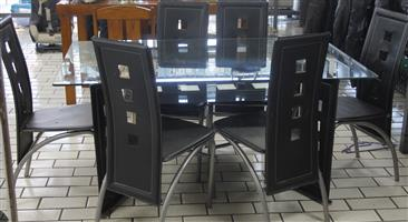 S035052A 7 Piece dining room set #Rosettenvillepawnshop