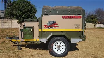 Conqueror Compact II 4x4 off-road camping trailer