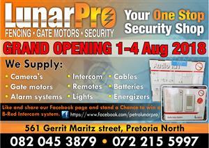 Lunarpro Grand Opening