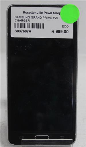 Samsung grand prime w/ charger S037607A #Rosettenvillepawnshop