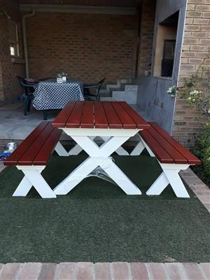 Garden and picnic furniture