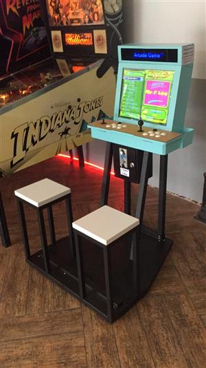 Arcade Video Game , sit down unit, coin and non-coin operated for sale