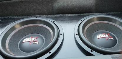 Two Starsound Monster Subs