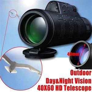 40X60 HD Optical Monocular Telescope