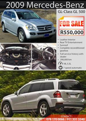 2009 Mercedes Benz GL 500