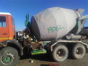 Mercedes Concrete Mixer Stripping For Parts .Contact Bertie 072-707-9933