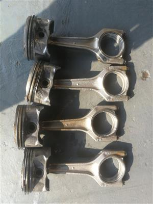 Bmw e90 N46 engine conrods and pistons. Each