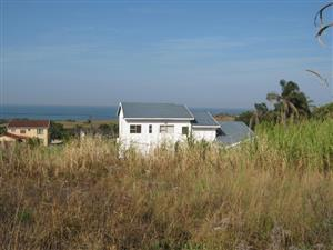 Vacant Land with Lovely Sea Views  for sale in Port Edward.