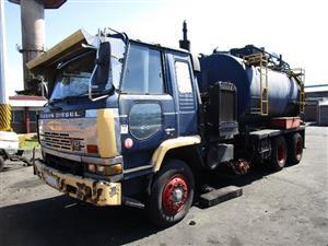 Nissan Diesel V10 Tanker Truck - ON AUCTION