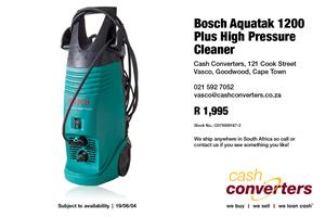 Bosch Aquatak 1200 Plus High Pressure Cleaner