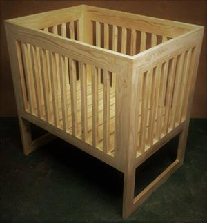 Nursery Baby Cot Interim Farmhouse series 1000 Raw