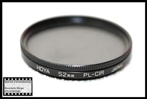 52mm - HOYA Circular Polarized Filter