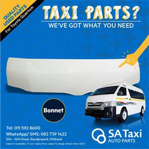 Bonnet for Toyota Quantum - SA Taxi Auto Parts quality used spares