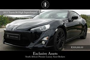2013 Toyota 86 2.0 high auto