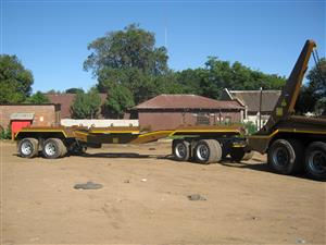 Extremely neat and reliable skip trailers. We make them strong and efficient.