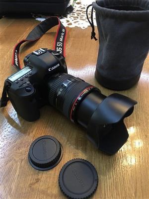 Canon 5D Mark III + 24-105 lens