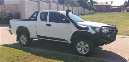 2018 Toyota Hilux Xtra cab HILUX 2.4 GD 6 RB SRX P/U E/CAB