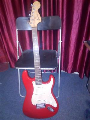 Squier Strat electric guitar by Fender